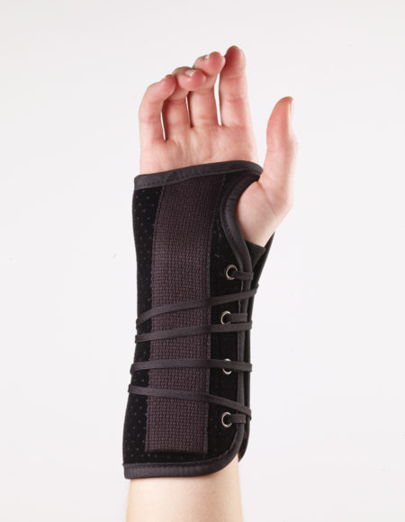 CF Suede Wrist Lacer Splint 1